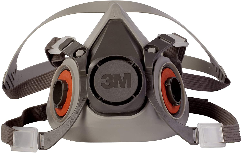 3M Half Facepiece Reusable Respirator 6200 (Medium) $12.47 Coupon