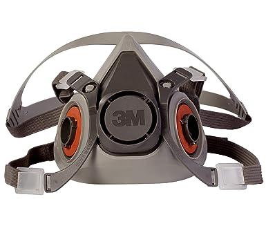 6200 Respirator Respiratory 07025 Half aad 3m Facepiece Reusable