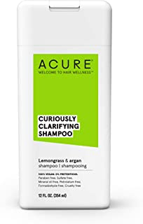 product image for Acure Curiously Clarifying Shampoo With Lemongrass & Argan, 12 Oz