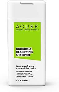 ACURE Curiously Clarifying Shampoo - Lemongrass, 354 milliliters