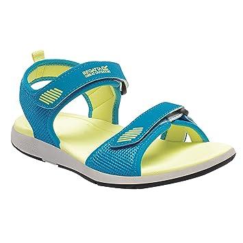 Women Sandals Regatta Women Fluro Blue / Citric Shoes Online