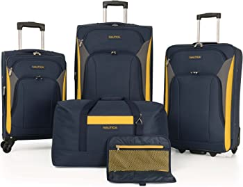 5-Piece Nautica Oceanview Luggage Set