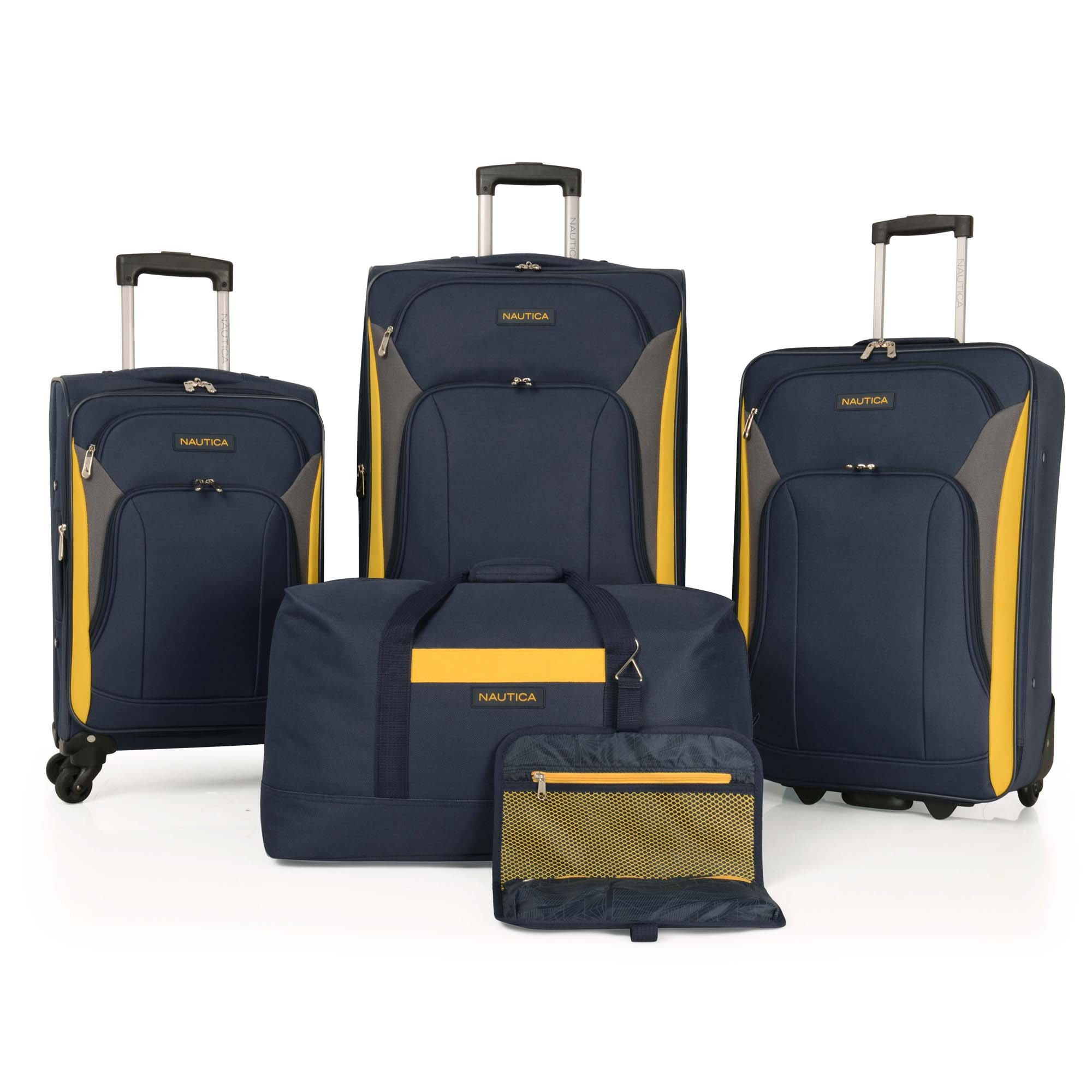 Nautica 5 Piece Luggage Set by Nautica
