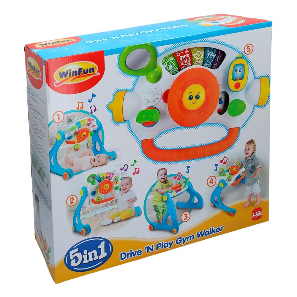 winfun - Gimnasio bebé 5 en 1 con sonidos(44731): Amazon.es ...