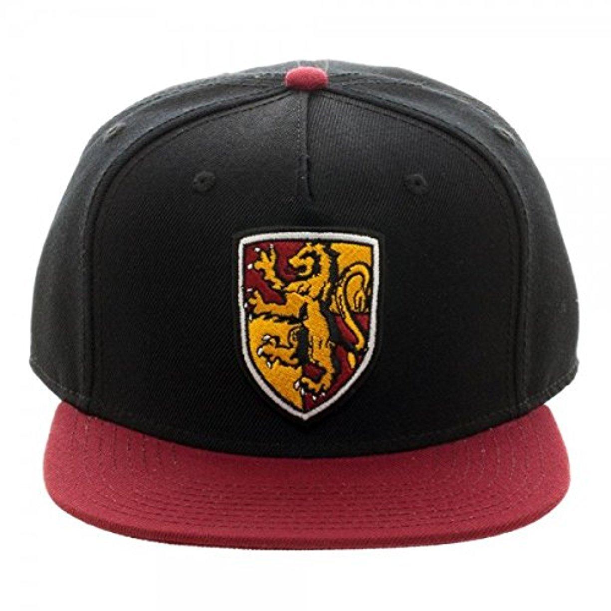 Harry Potter Gryffindor Crest Snapback Hat Bioworld SB484LHPT