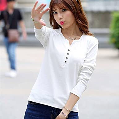 Michael Stevenson Tee Shirt Femme Spring Long Sleeve T-Shirt Women T Shirt Womens Tops