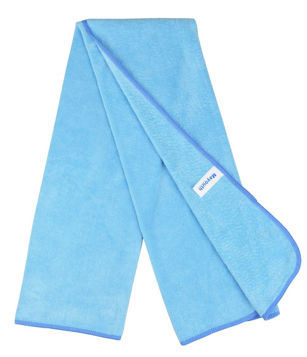 MAYOUTH Gym Towels Microfibre Sports Towels Fast Drying /& Absorbent Workout Sweat Towels for Gym Fitness,Yoga Camping 3-Pack 40cm X80cm