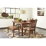 Ashley Furniture Signature Design - Shallibay Dining Room Table - Medium Brown