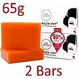 whitening soap by Kojie San Skin Lightening Kojic Acid Soap (2 Bar -65 Gramme)