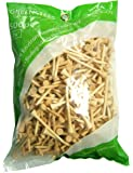Paragon Golf Tees 2 3/4-Inch Natural Wood 500 Pack by Sports