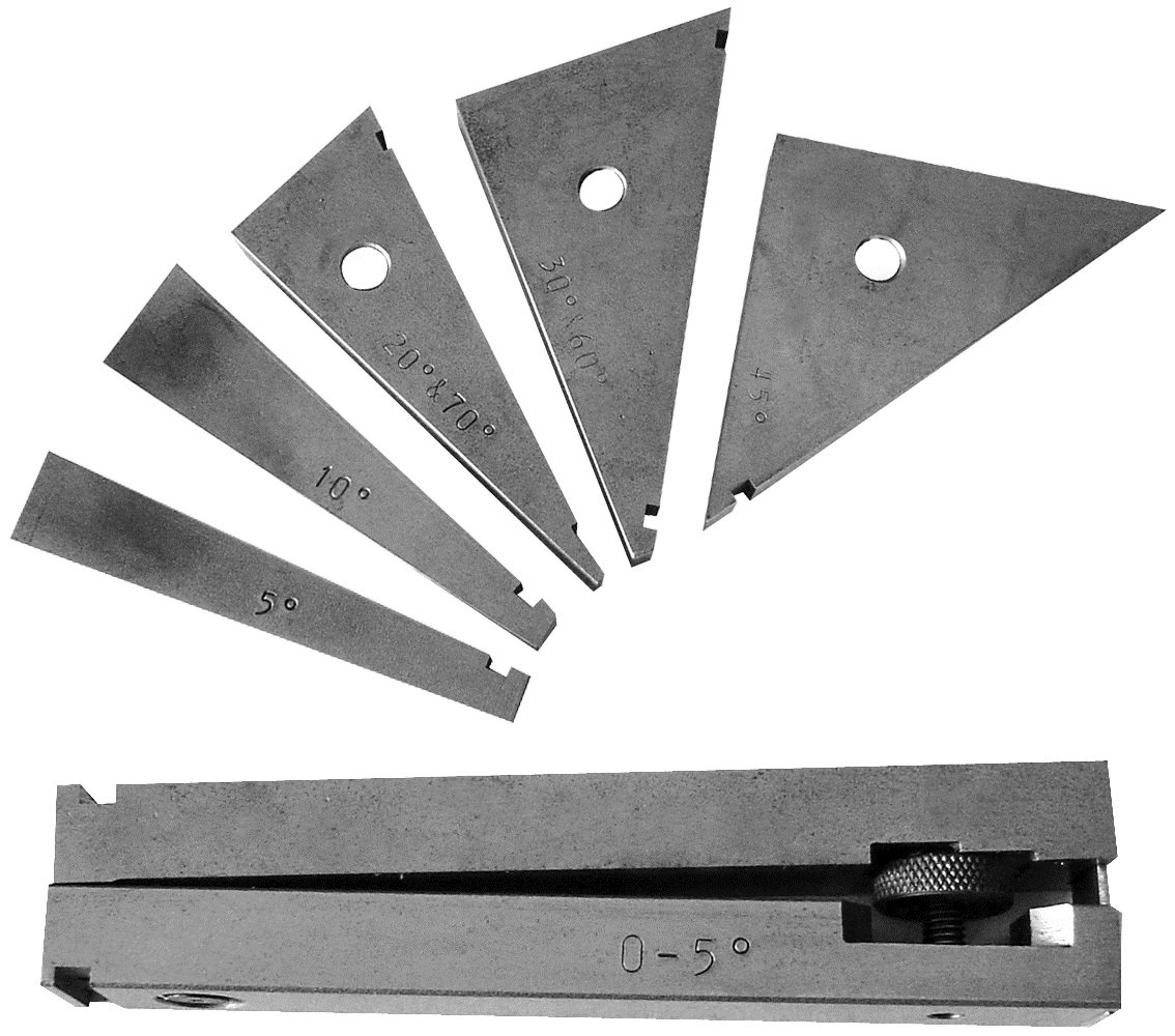 HHIP 6 Piece Tangent Bar and Angle Block Set (3402-0962) ABS Import Tools Inc.
