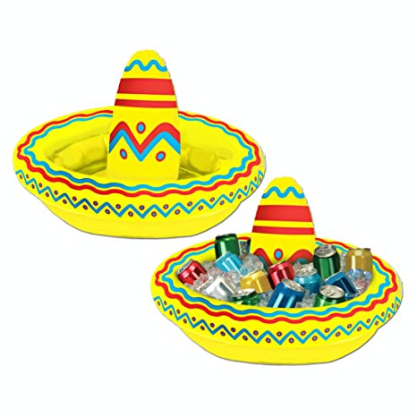 Amazon.com: Pack de 6 hinchable mexicano Cinco de Mayo ...