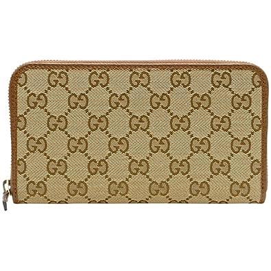 quality design 4e703 24f91 Amazon | (グッチ)GUCCI 長財布 レディース ブラウン ラウンド ...