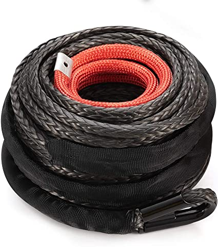 3//8inch*84 feet extension rope,synthetic winch rope for accessaries,uhmwpe rope