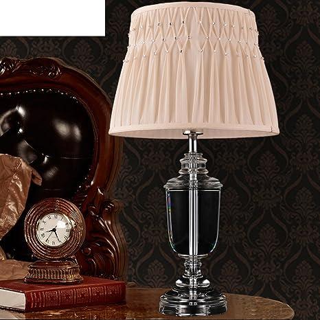 Amazon.com: Americana lámparas de mesa lámparas/dormitorio ...