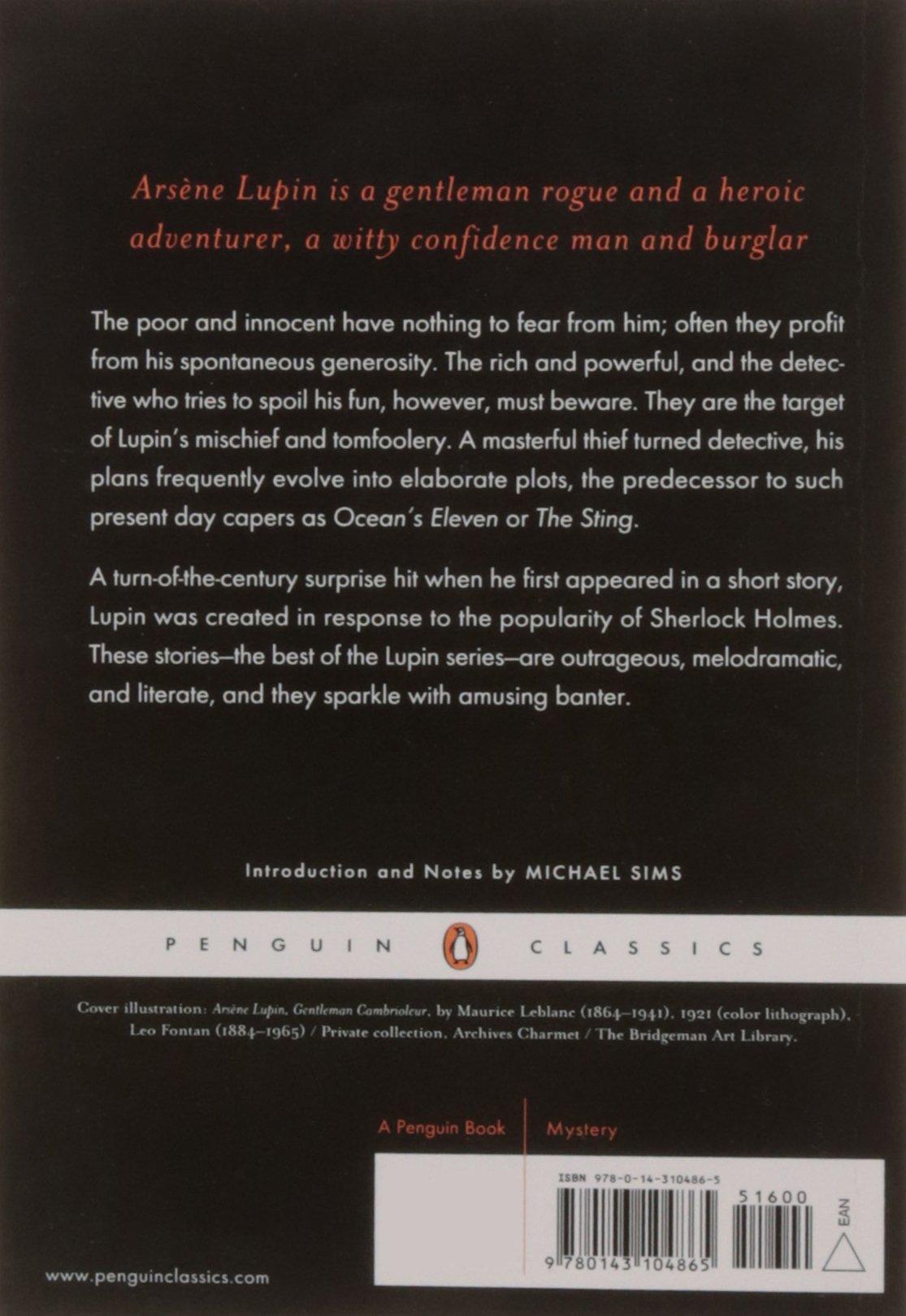 com arsene lupin gentleman thief penguin classics com arsene lupin gentleman thief penguin classics 9780143104865 maurice leblanc books
