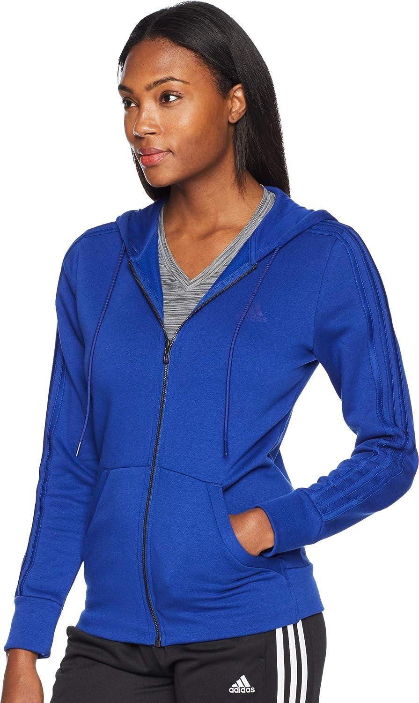 e31455405ec6 Mystery adidas Inline Apparel Child Code adidas Athletics Essentials Cotton  Fleece 3 Stripes Full-Zip Hoodie ...