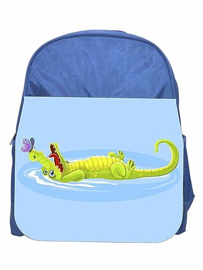eba80447199b Amazon.com | Alligator Girls/Boys Blue Preschool Toddler Childrens ...
