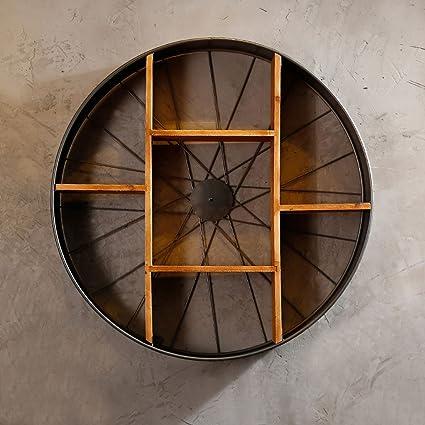 Yi Feng Estantería Pared de Hierro Forjado decoración de ...