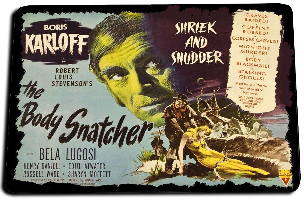Old Horror Movie Poster Design The Body Snatcher Door Mat Rug