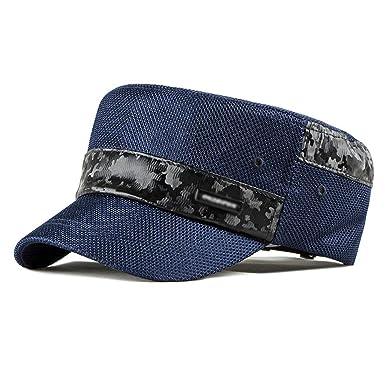 Idopy Hombres Mujeres Ejército Malla Camuflaje Patchwork Sombreros ...
