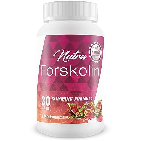Nutra Forskolin- 100 Natural Ingredients Best Coleus Forskohlii on the Market – Safe Weight Loss Supplement for Women Men
