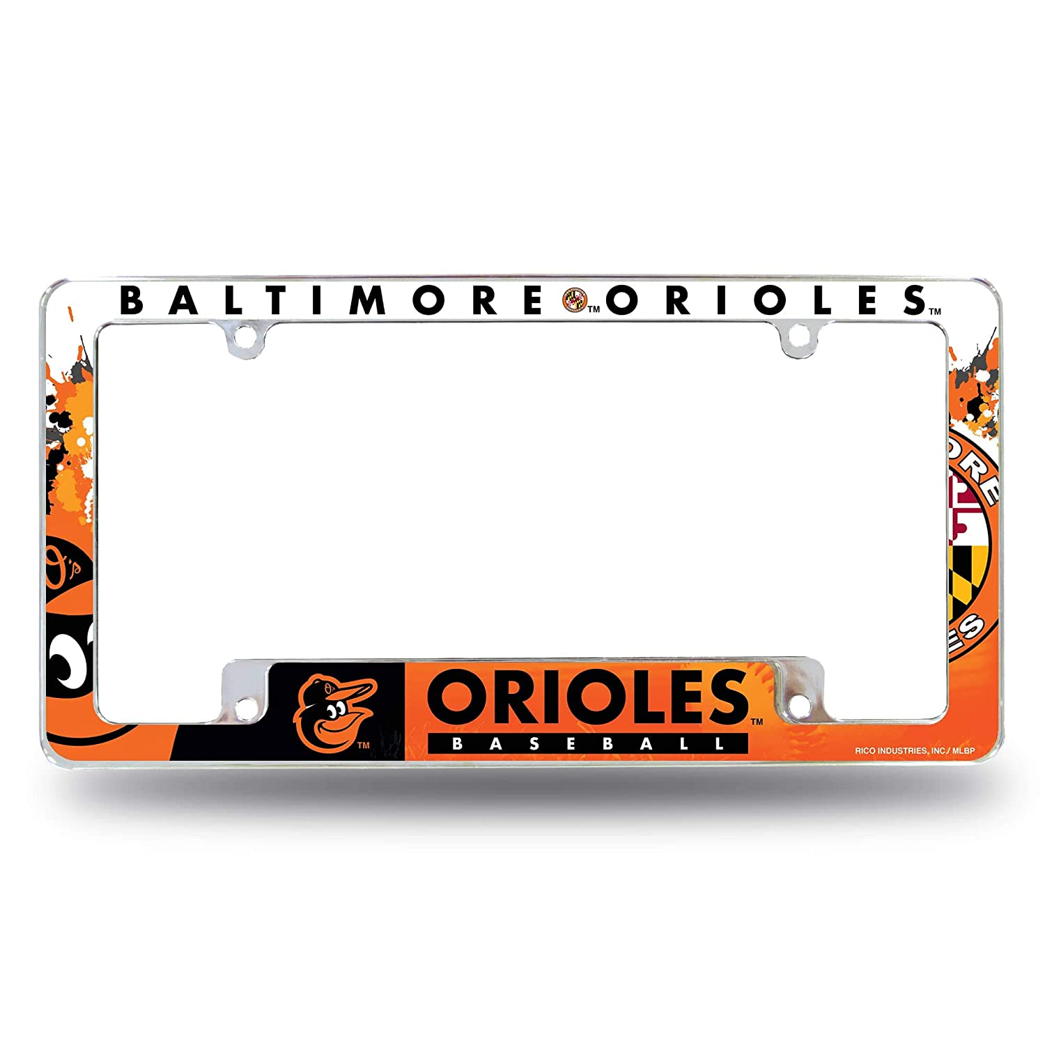 Rico Industries Orioles All Over Chrome Frame