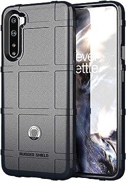 NOKOER Funda para OnePlus Nord, TPU Material Case [Armadura] Anti-Caída Funda para Telefono [Antideslizante] [Huella Digital Anti] Cover: Amazon.es: Electrónica