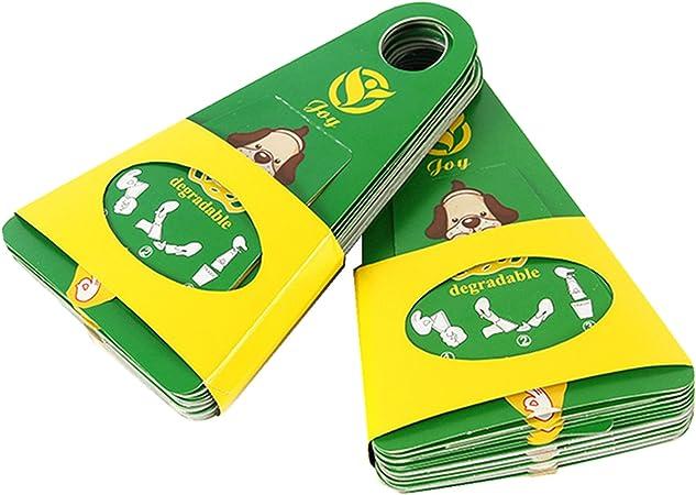 AODA perro One-Off caca Scoopers con bolsa de residuos y cartón ...