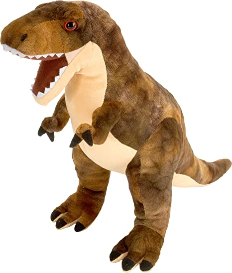 Wild Republic T-Rex Plush, Dinosaur Stuffed Animal, Plush Toy, Gifts For