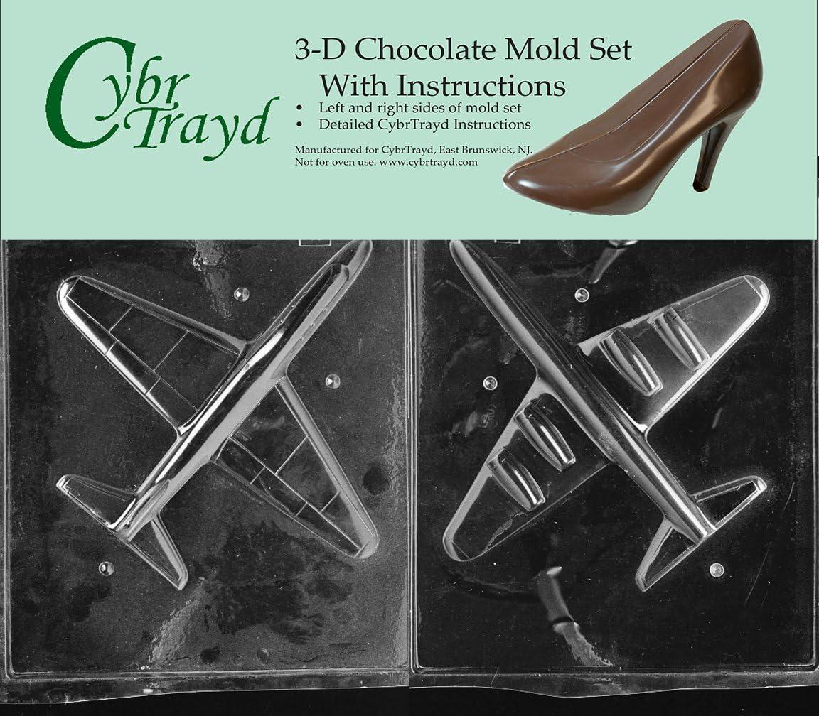 Jet Plane Lollipop Chocolate Candy Mold  265 NEW