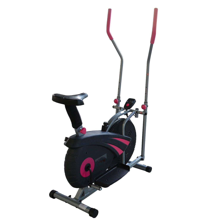 FoxHunter Pro bicicleta elíptica bicicleta estática Fitness Cardio ...