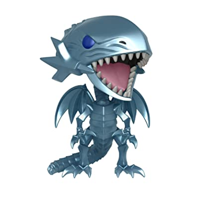 Funko Pop Animation: Yu-Gi-Oh! - Blue Eyes White Dragon Collectible Figure, Multicolor: Toys & Games