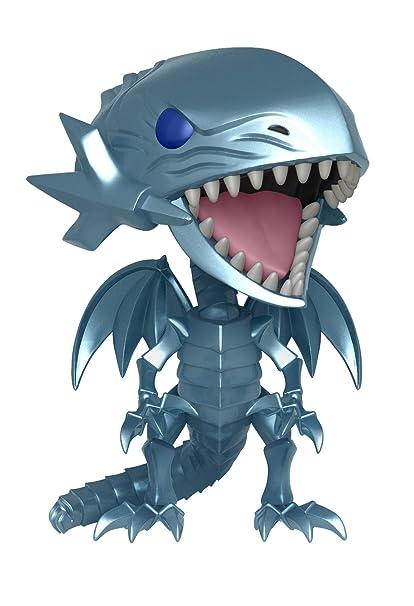 amazon com funko pop animation yu gi oh blue eyes white dragon