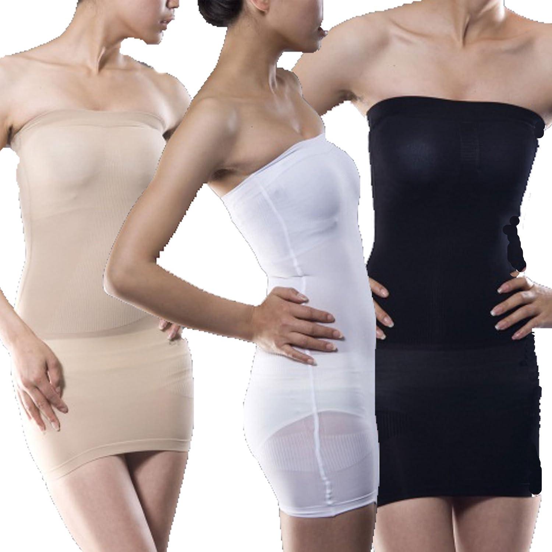 1f3195dd84b85 Slimming Tube Shapewear White XXXL  Amazon.co.uk  Clothing