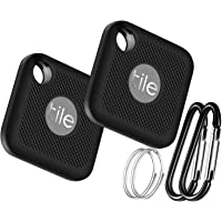 Silicone Case for Tile Pro (2020 & 2018), 2 Pack Cover Case Anti-Scratch Lightweight Soft Full Body Shock Protective Sleeve Ultra Slim Skin for Tile Pro Bluetooth Anti-Loss Device with Carabiner