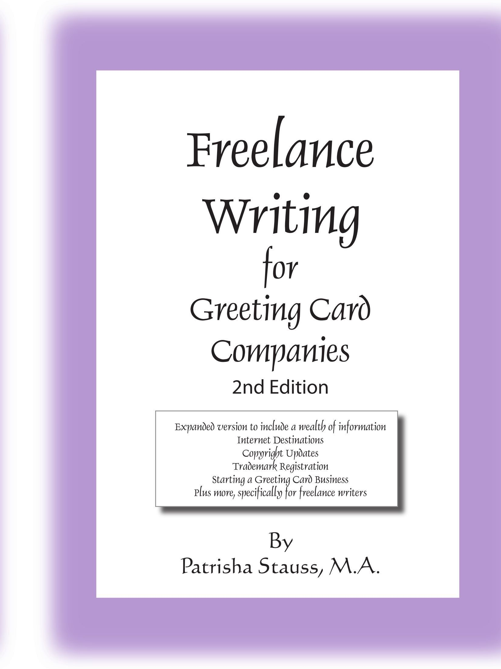 Freelance Writing for Greeting Card Companies: 2nd Edition: Amazon ...