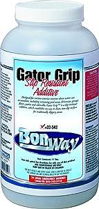 BonWay 32-540 Gator Grip Slip Resistant Additive for 1 Gallon