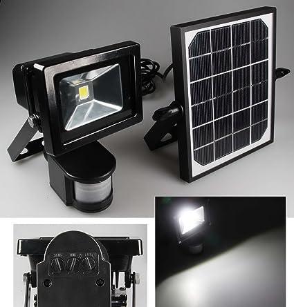 Foco con sensor de movimiento (LED, 10 W, 1000 lm, 4200 K