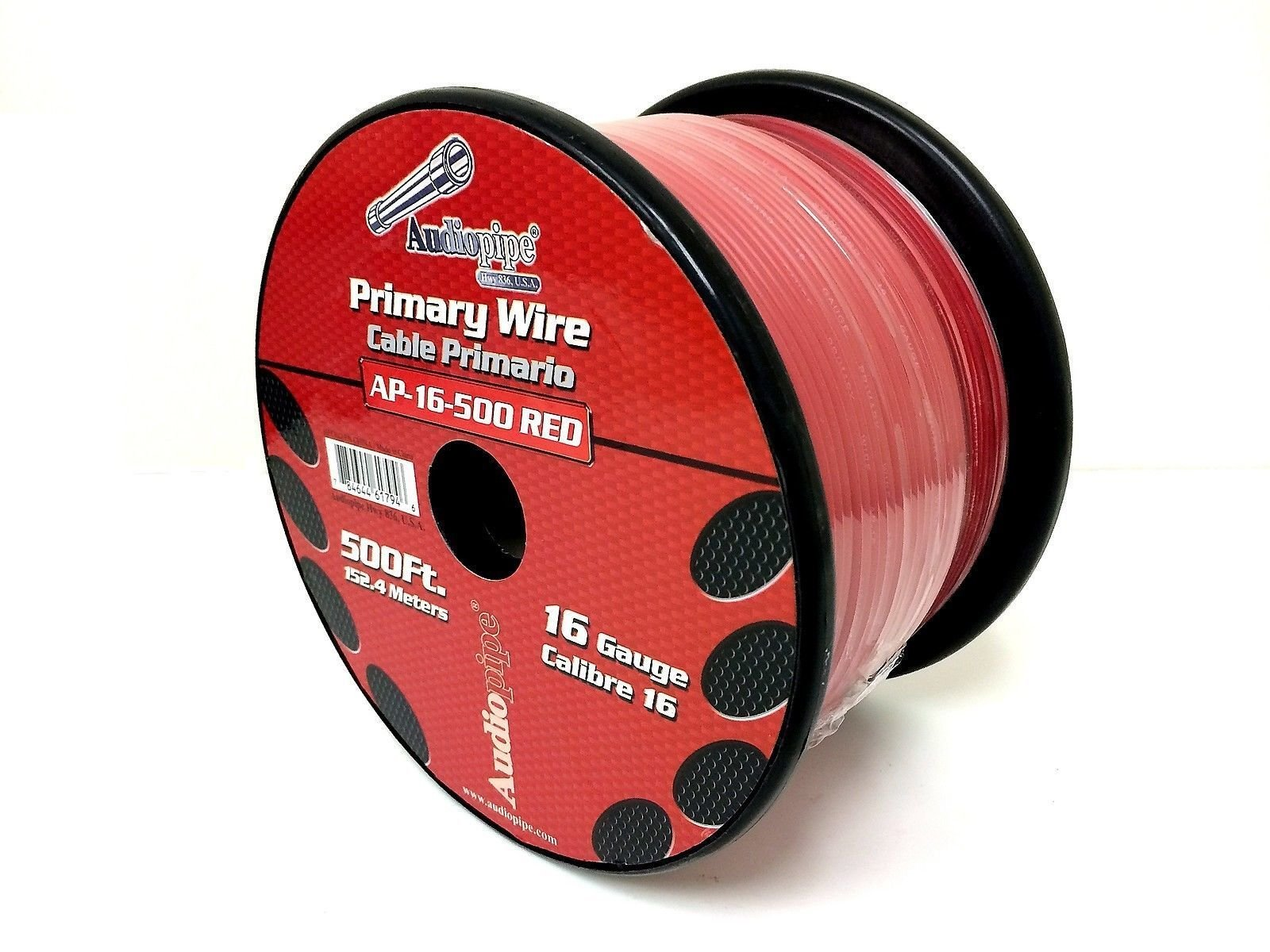 3 Rolls of 16 Gauge - 500' each Audiopipe Car Audio Home Primary Remote Wire by Audiopipe (Image #6)