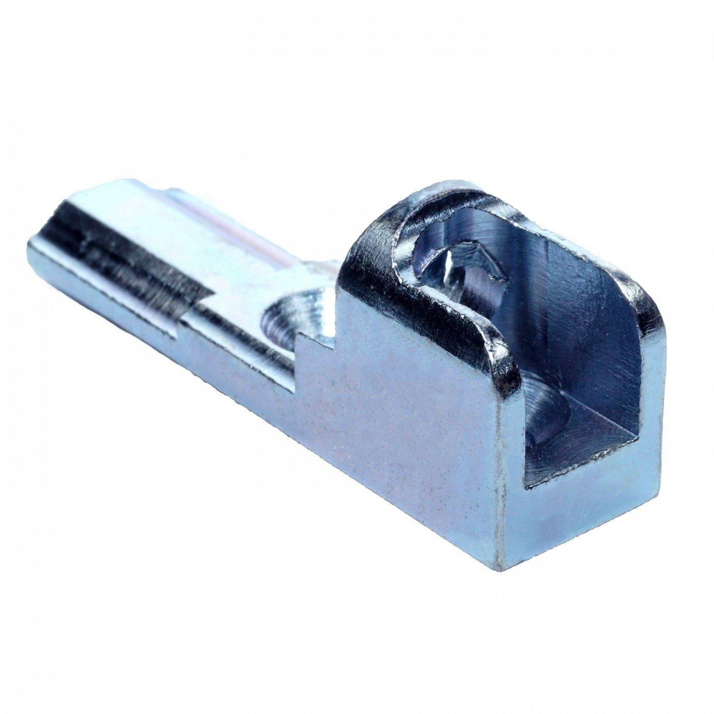 GEZE Ecklager 8301 für Aluminium Fenster silber verzinkt ToniTec® Reproduktion