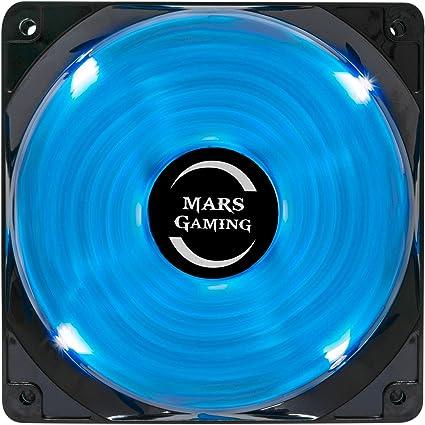 Mars Gaming MF12 - Ventilador para ordenador (9 aspas ...