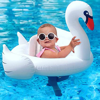 3Pcs Baby Pool Float with Canopy Inflatable Arm Bands Swimming Pool Floats Toys