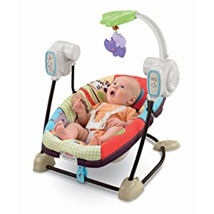 Fisher-Price SpaceSaver Swing and Seat Review