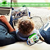 Kids Camera BIBENE Kids Digital Camera for Boys and Girls, Digital Video Camera with 1.44 inch TFT Display SD Card Slot USB Cable, Perfect Christmas Gift for Children