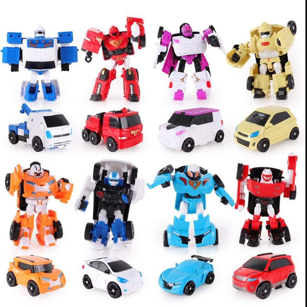 Mini Helden Rettungs Bots Spielzeug 8 Und Roboter Und 8 Fahrzeuge