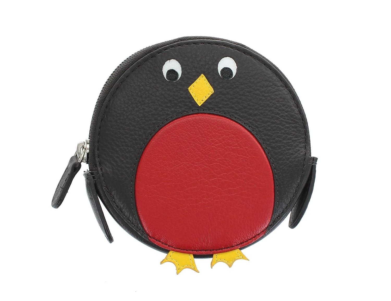 Mala Leather Porte-Monnaie pour Pi/èces de Monnaie en Cuir Rond /à Motif Animalier 4155/_11 Chat
