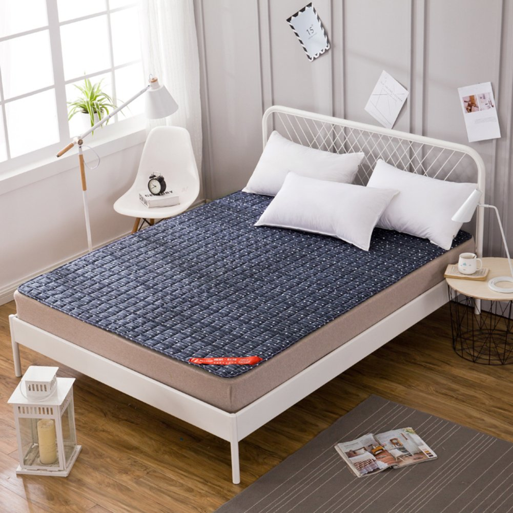 Bedroom Mattress Tatami Mat Bed Pad Fold Able Anti Skidding 3 0cm