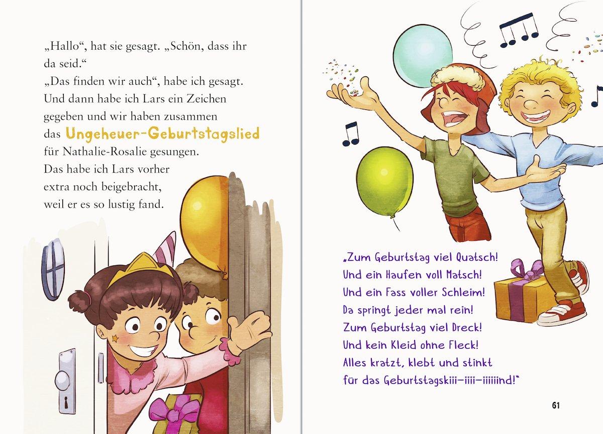 Zum Geburtstag Viel Quatsch 9783473364879 Amazon Com Books