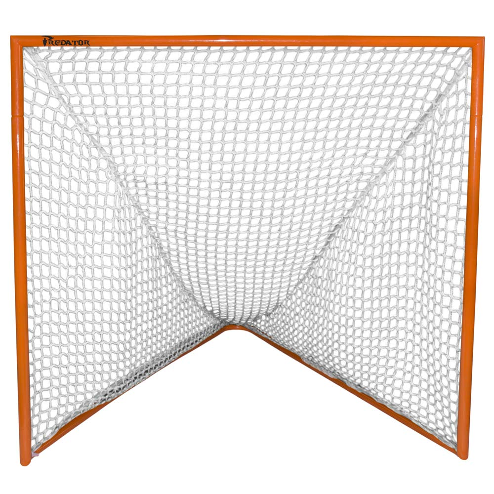 Predator Sports Deluxe High School Lacrosse Goal with 5mm Triple Stitched Net